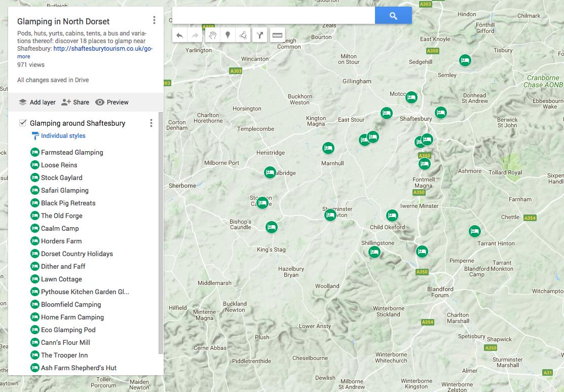 Map Of Uk Dorset.North Dorset Shaftesbury Tourism